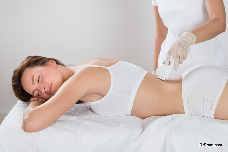 woman enjoying Wellness therapy